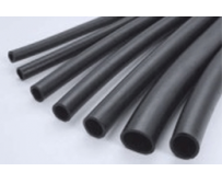 Oil and petrol resistant rubber tubes