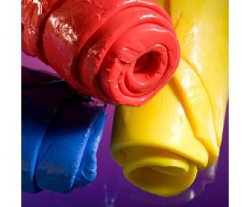 Смеси силиконовые цветные