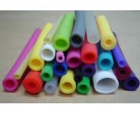 Трубки силиконовые цветные