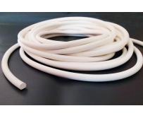 Шнур силиконовый белый, шнур силиконовый технический