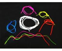 Силиконовые шнуры, шнуры силиконовые цветные, шнур для декора