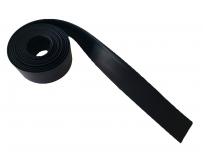 Полоса резиновая МБС 40х4мм, полоса уплотнитель резиновый, уплотнитель для стыков и дверей