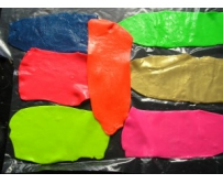 Silicone coloured mixes